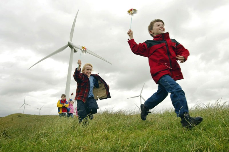 Wind farms often face local opposition
