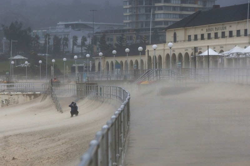 Sydney storm erodes sandy beaches, giving a taste of the future