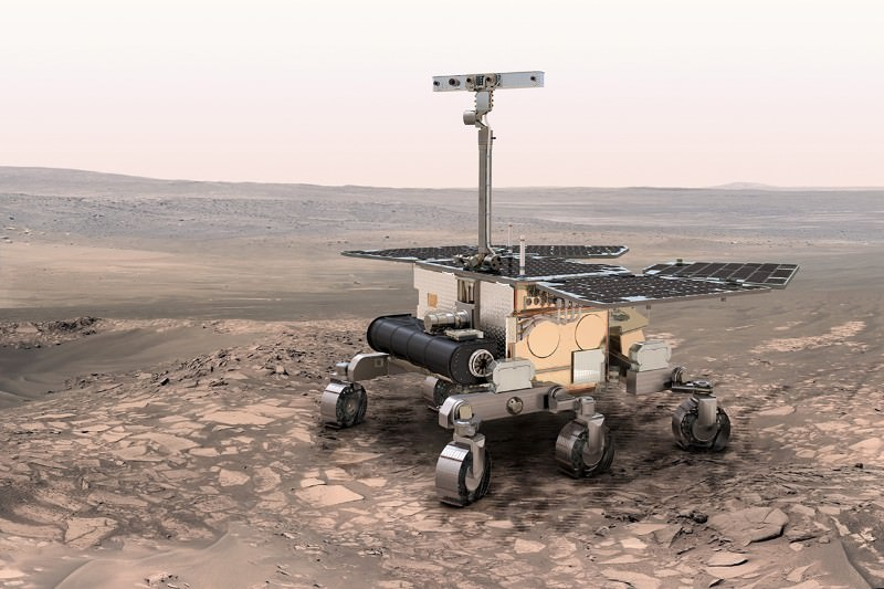 ExoMars rover's Martian-hunting camera takes test run in Iceland