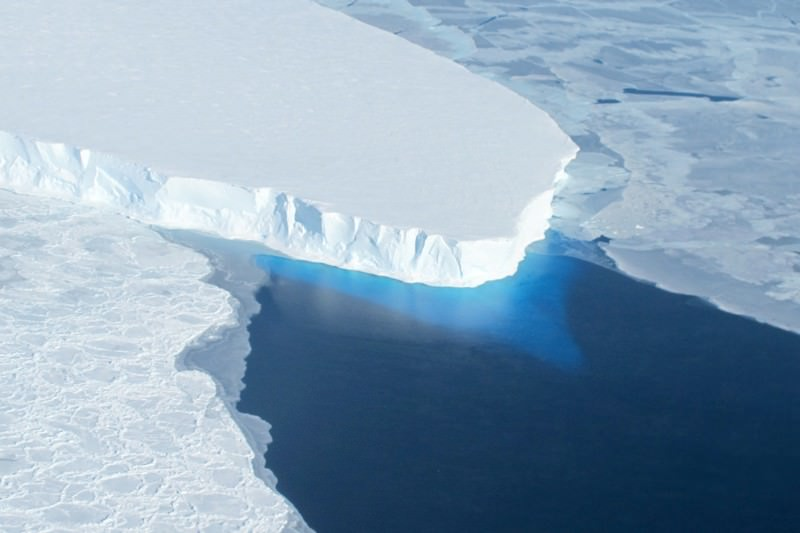 The collapse of part of the West Antarctic ice sheet could raise sea level by 1.2 metres