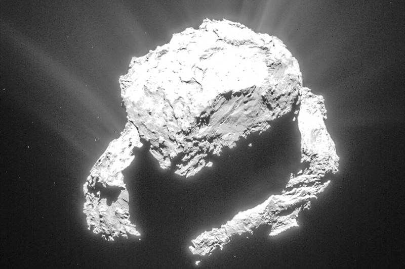 Rosetta's wrong water could be right after all