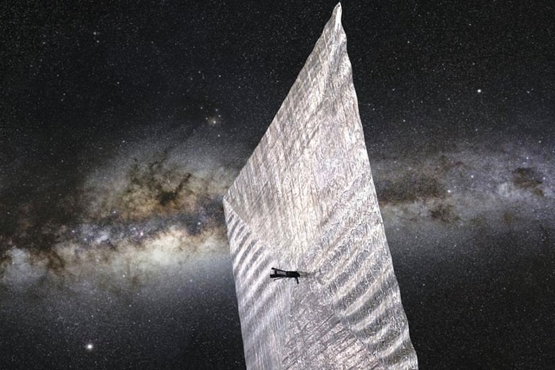 Graphene might make solar sails redundant (Image: NASA