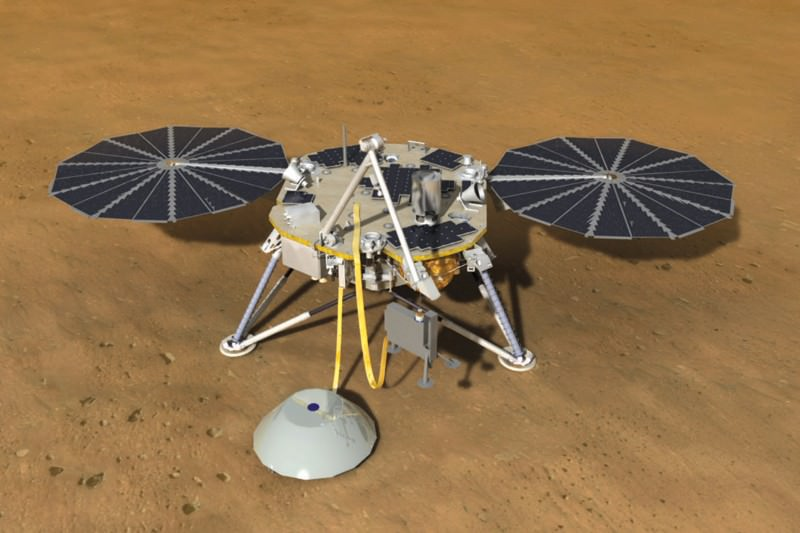 The InSight probe will carry seismometers