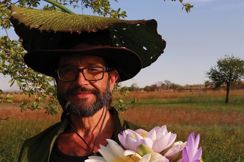 'Plant messiah' dodges crocodiles to save rare water lilies