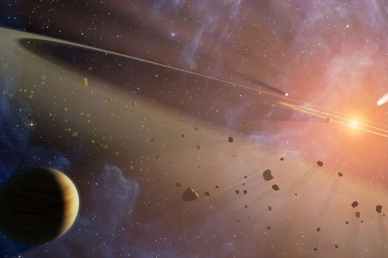 Dual asteroid strike hints at chaos in the inner solar system