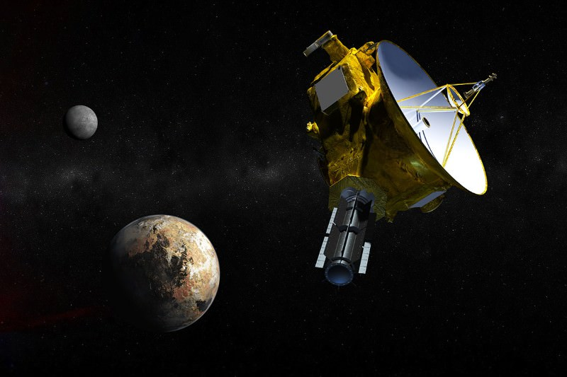 New Horizons hiccup won't affect Pluto mission science