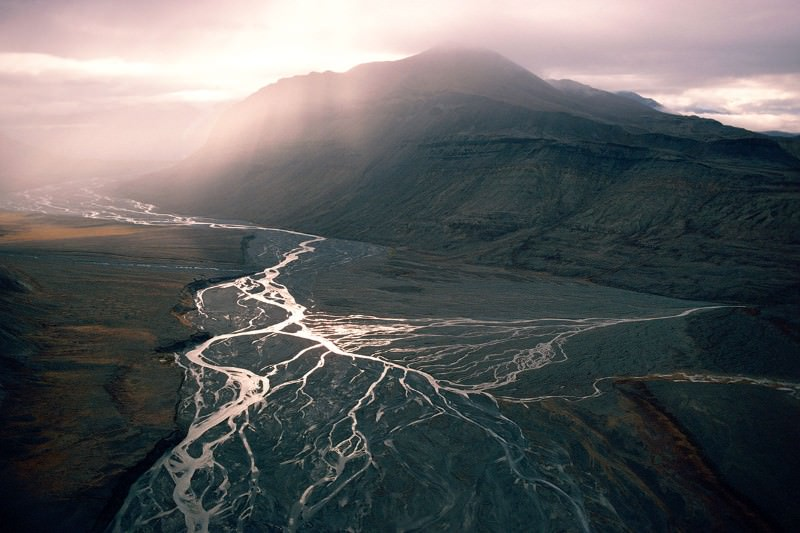 Travel back in time to Earth's mightiest rivers and mountains