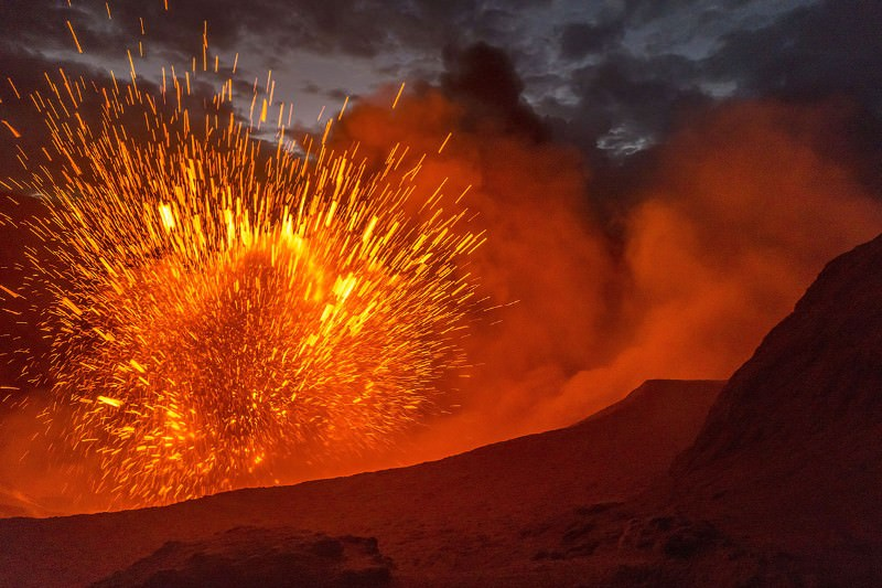 Travel back in time to the biggest volcanic apocalypse ever