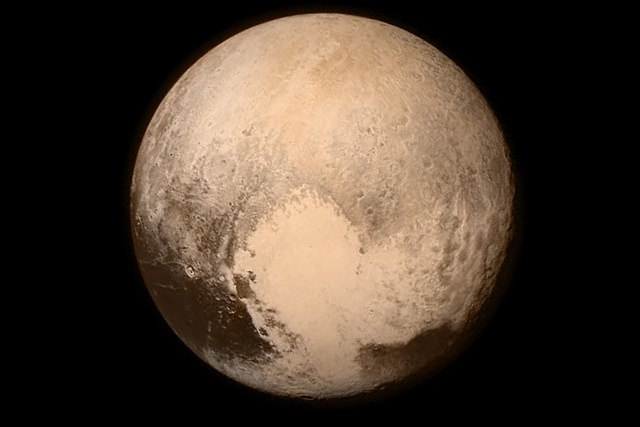 New Horizons fly-by shows Pluto to be a surprising world