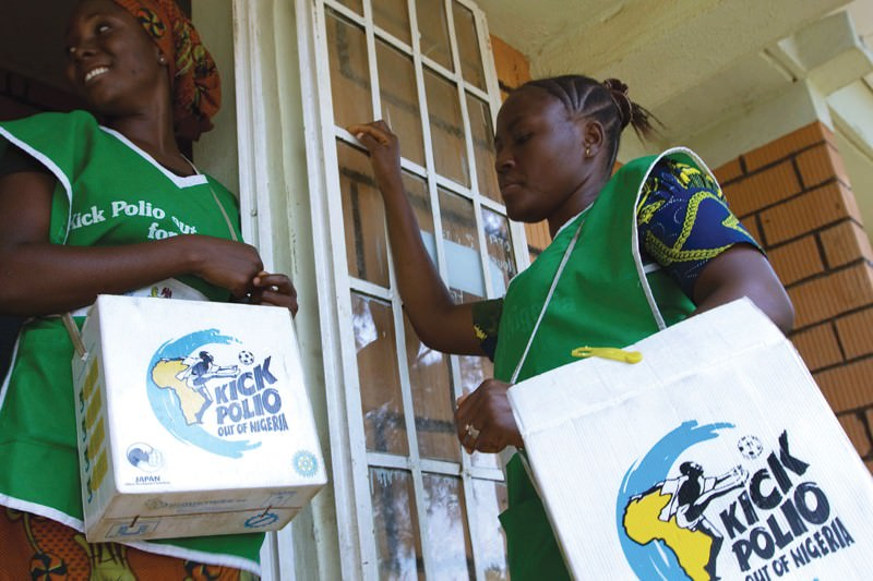 Nigeria's polio-free year sees Africa inch closer to eradication