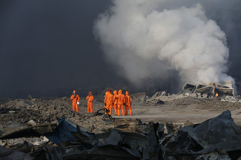 Massive Tianjin chemical blasts prompt Chinese safety audit