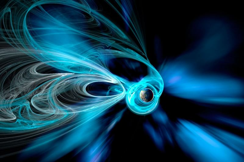 Earth may have a hairy mane of dark matter flowing around it