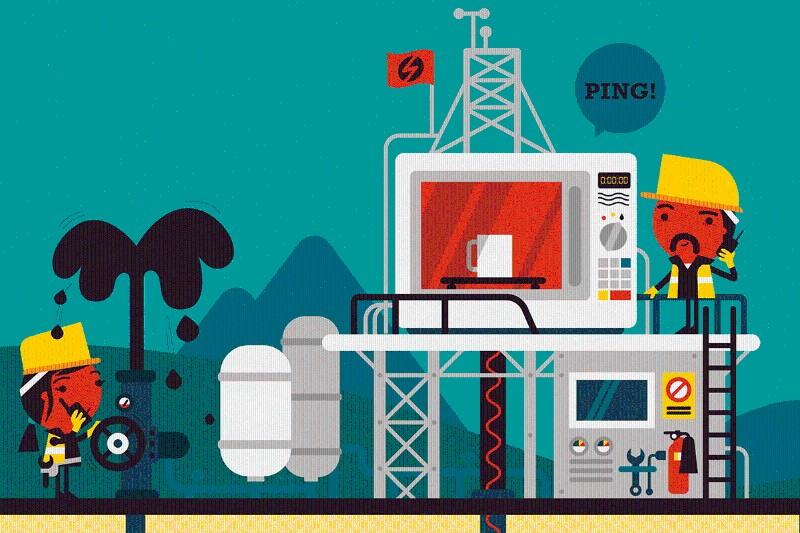 Forget fracking, microwave zaps could clean up the oil business