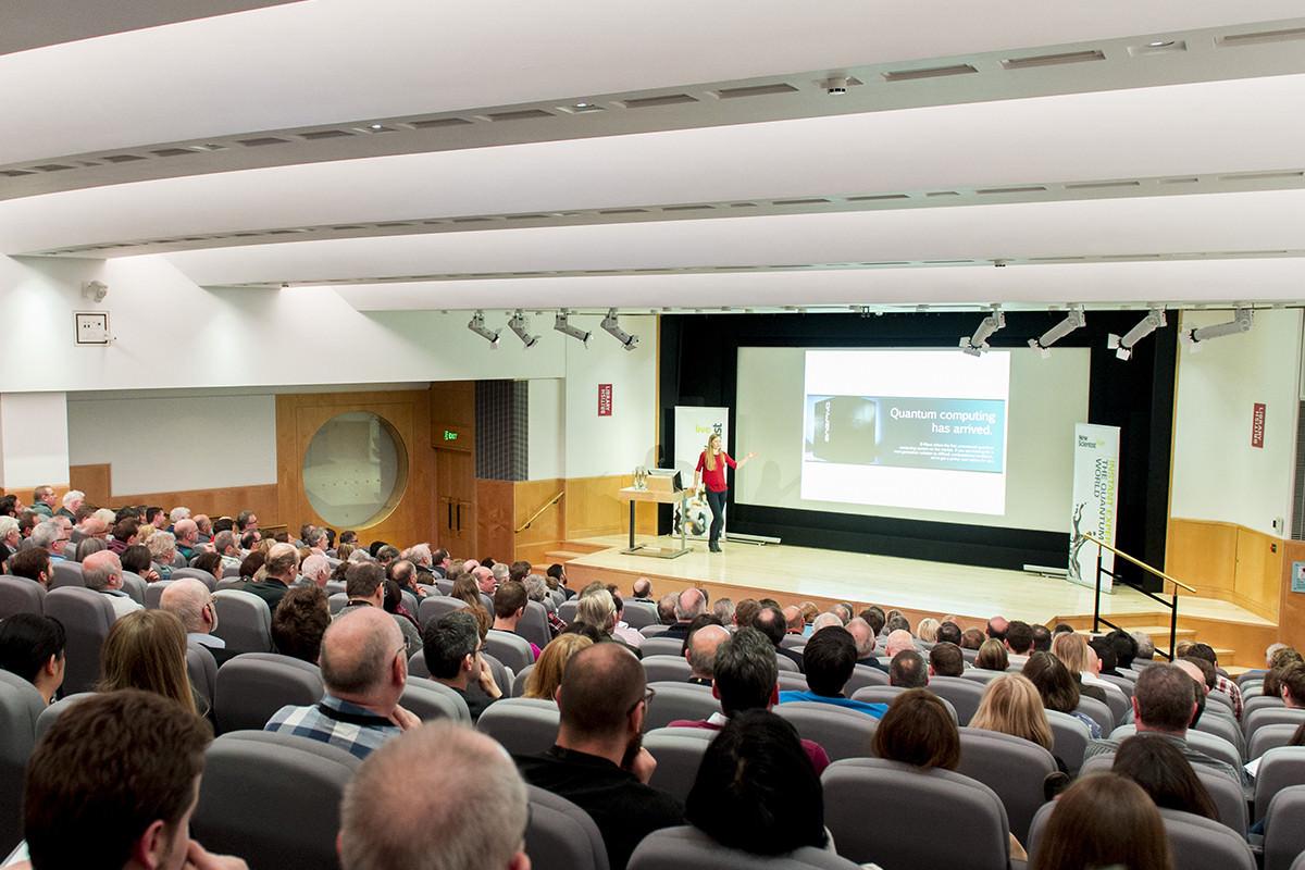 New Scientist's Quantum World event at the British Library with keynote speaker Jim Al-Khalili.
