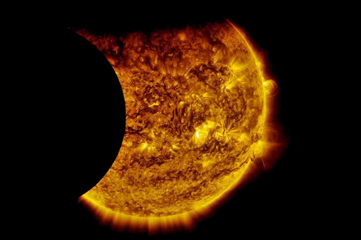 Sun From The Moon