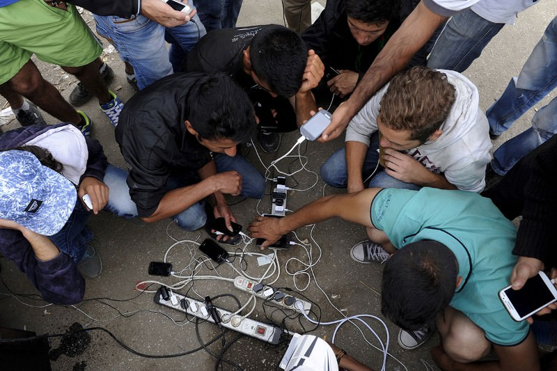 Tech helps refugees make journey - and survive when they arrive