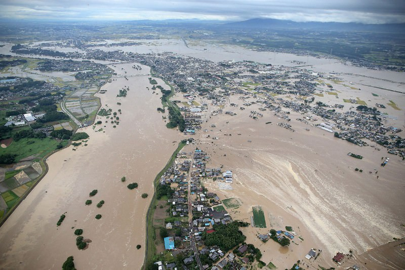 Did global warming play a role in Japan's devastating floods?