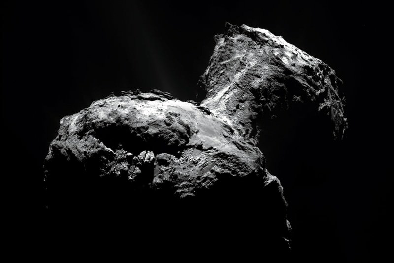 Rosettawatch: Comet 67P's weather revealed as sun melts ice
