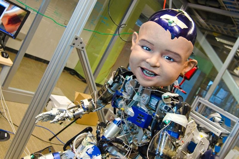 Expressive baby robot confirms why infants smile at their mums