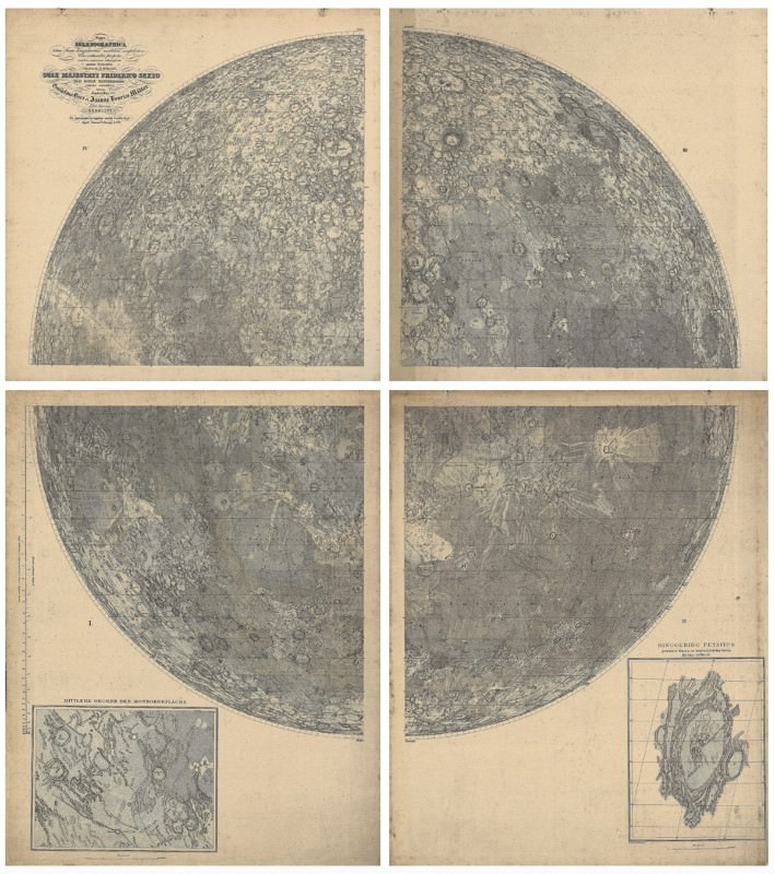 Six stunning maps uncover hidden details of the Earth and moon