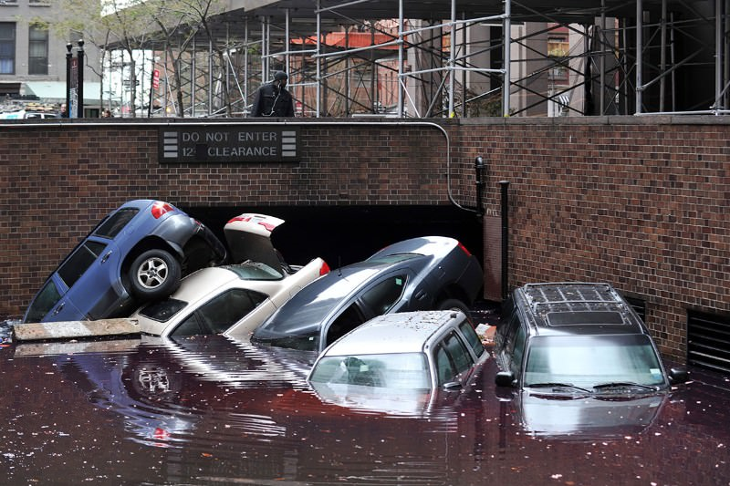 Floods that hit New York City every 500 years now hit every 24