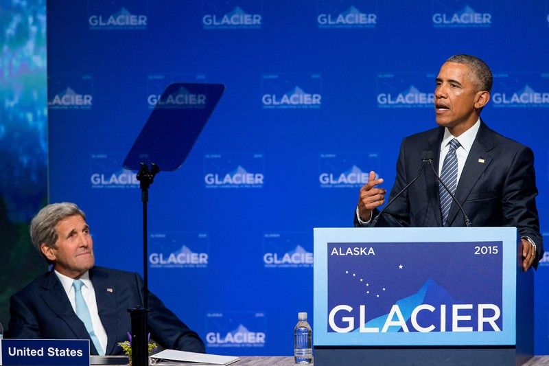 Obama defends decision to let Shell drill for oil in Arctic