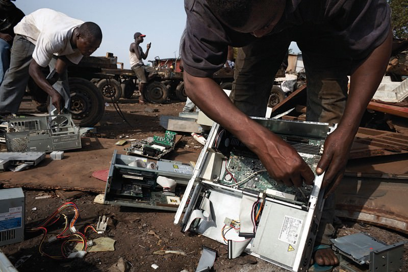 65 per cent of Europe's electronic waste is stolen or mismanaged