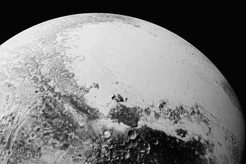 Pluto dazzles in first new images downloaded since July's flyby