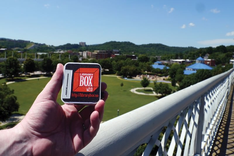 Web-in-a-box delivers a bit of the internet anywhere you want