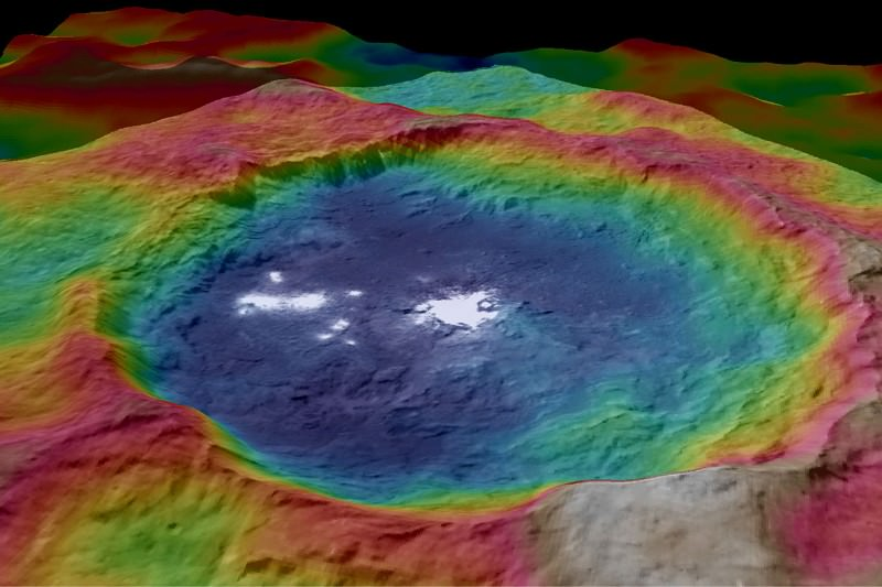 Psychedelic maps of Ceres could reveal secrets of its surface