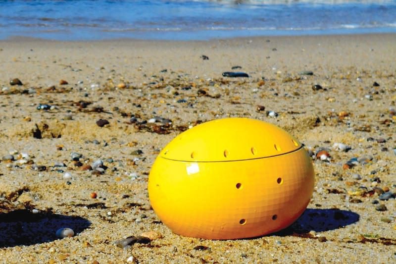 Swarms of pumpkin-like robots could explore and map the oceans