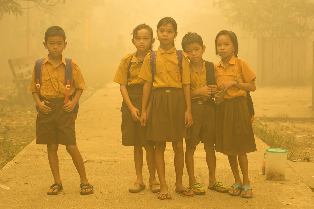 Haze in Central Kalimantan