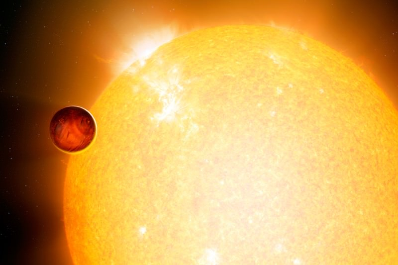 Hot Jupiters may have formed through planetary billiards