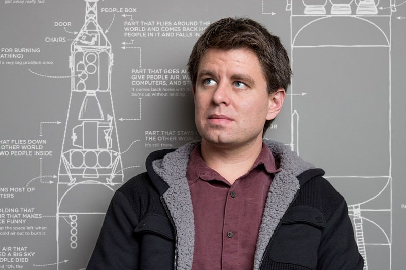 XKCD comic creator: Explaining complicated things in simple words