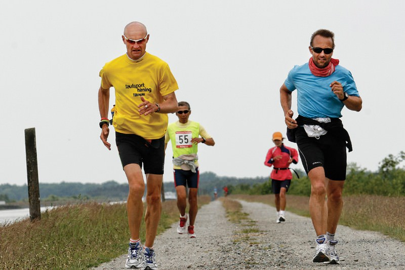Ultra-marathon runners' brains shrunk while racing across Europe