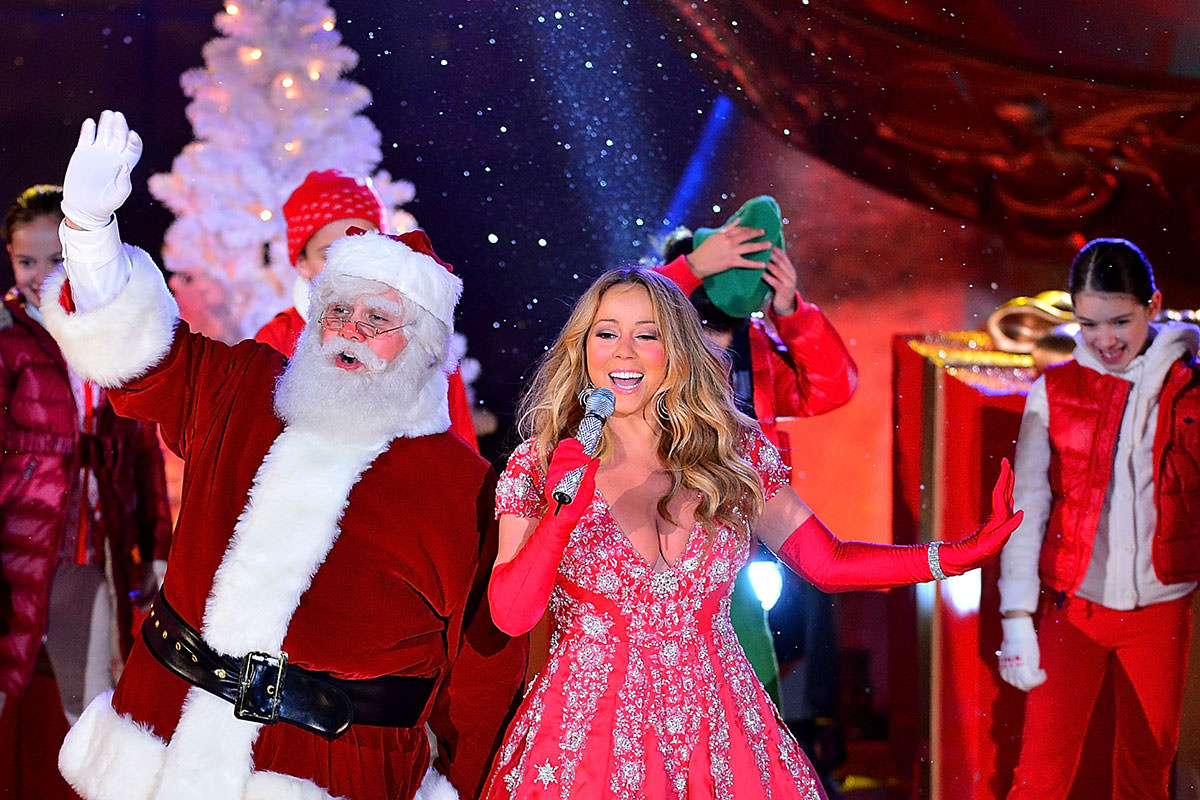 How trippy version of Mariah Carey Christmas hit fools the brain ...