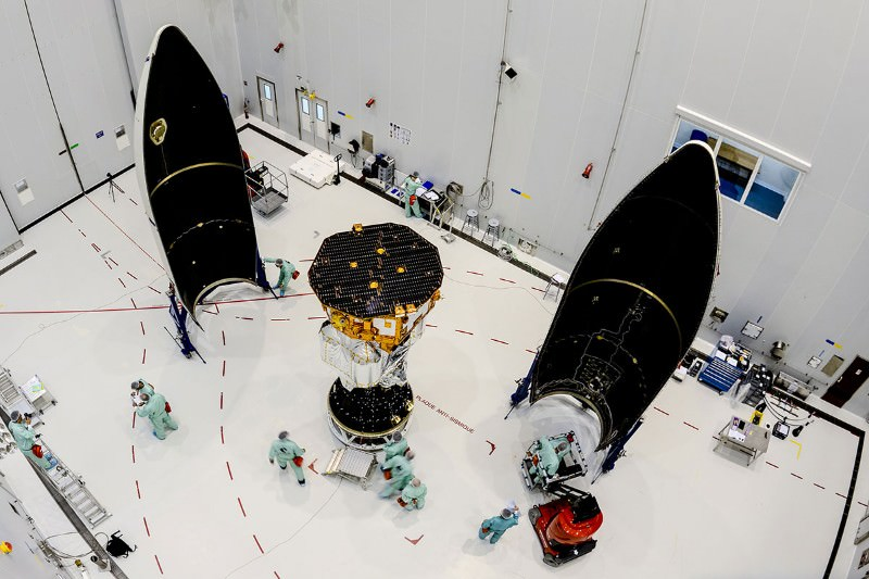 LISA Pathfinder spacecraft ready for lift-off
