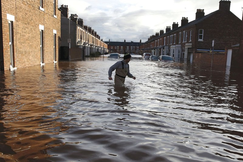 Is climate change behind the storm that flooded parts of the UK?
