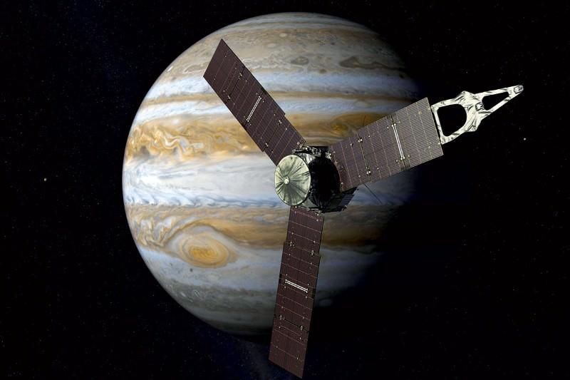NASA probe to visit Jupiter to look for water and map clouds