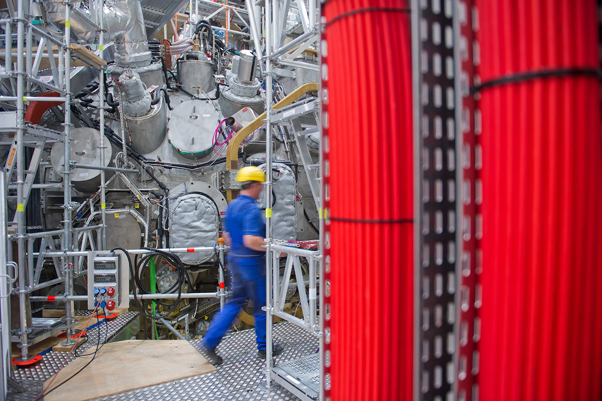 wendelstein 7-X reactor