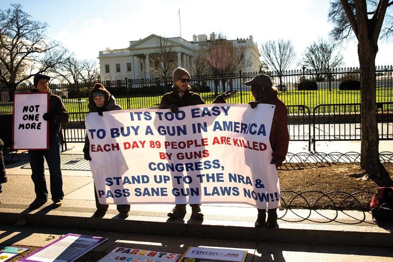 Smart guns and mental health checks needed to slash gun violence