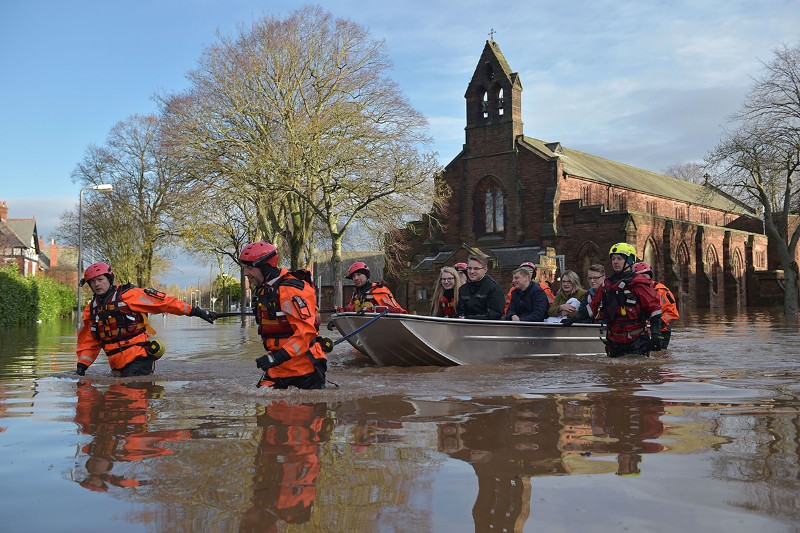 Understanding climate change's role in the UK's recent floods