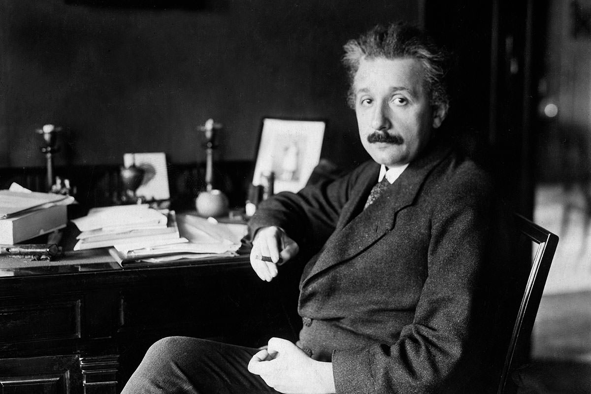 Exclusive: Einstein reacts to discovery of gravitational waves