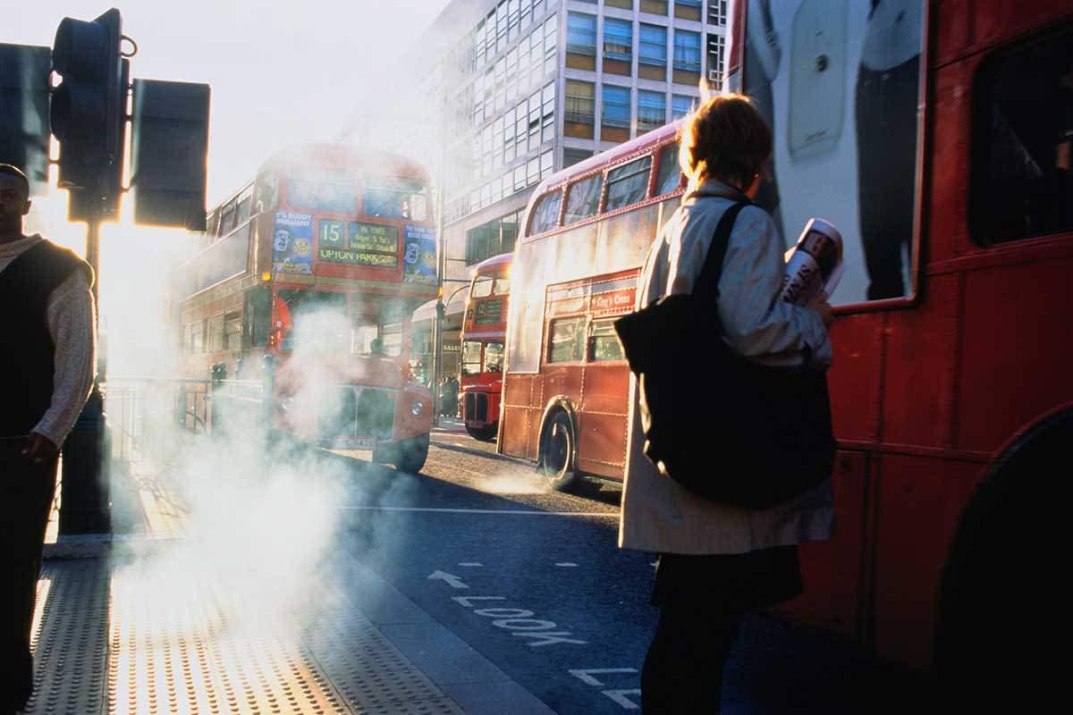 smoky buses london