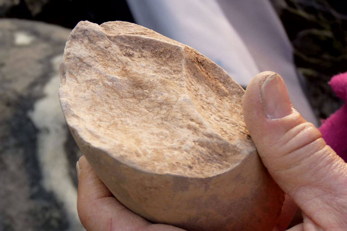 Early stone tool found in Asia