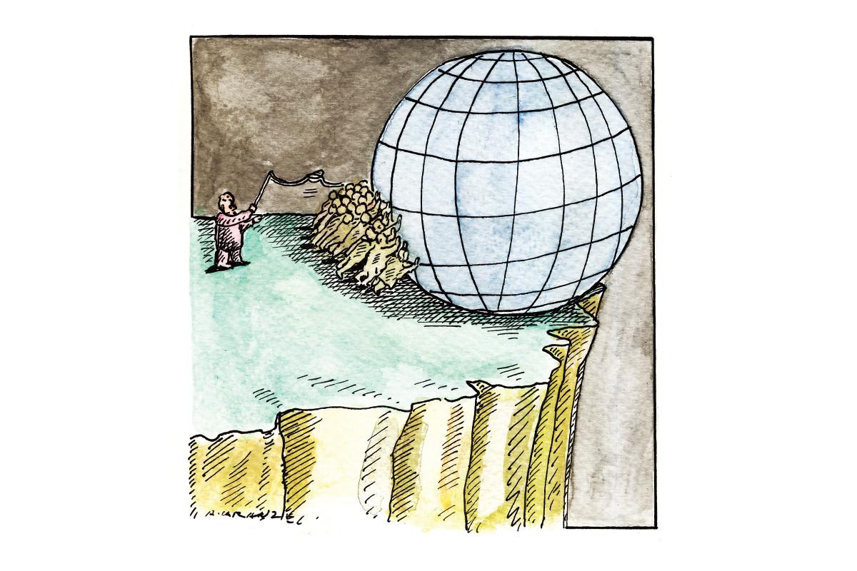 slavery cartoon