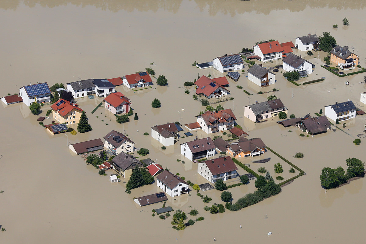 Hell of high water: best to rivers flood where people won't suffer