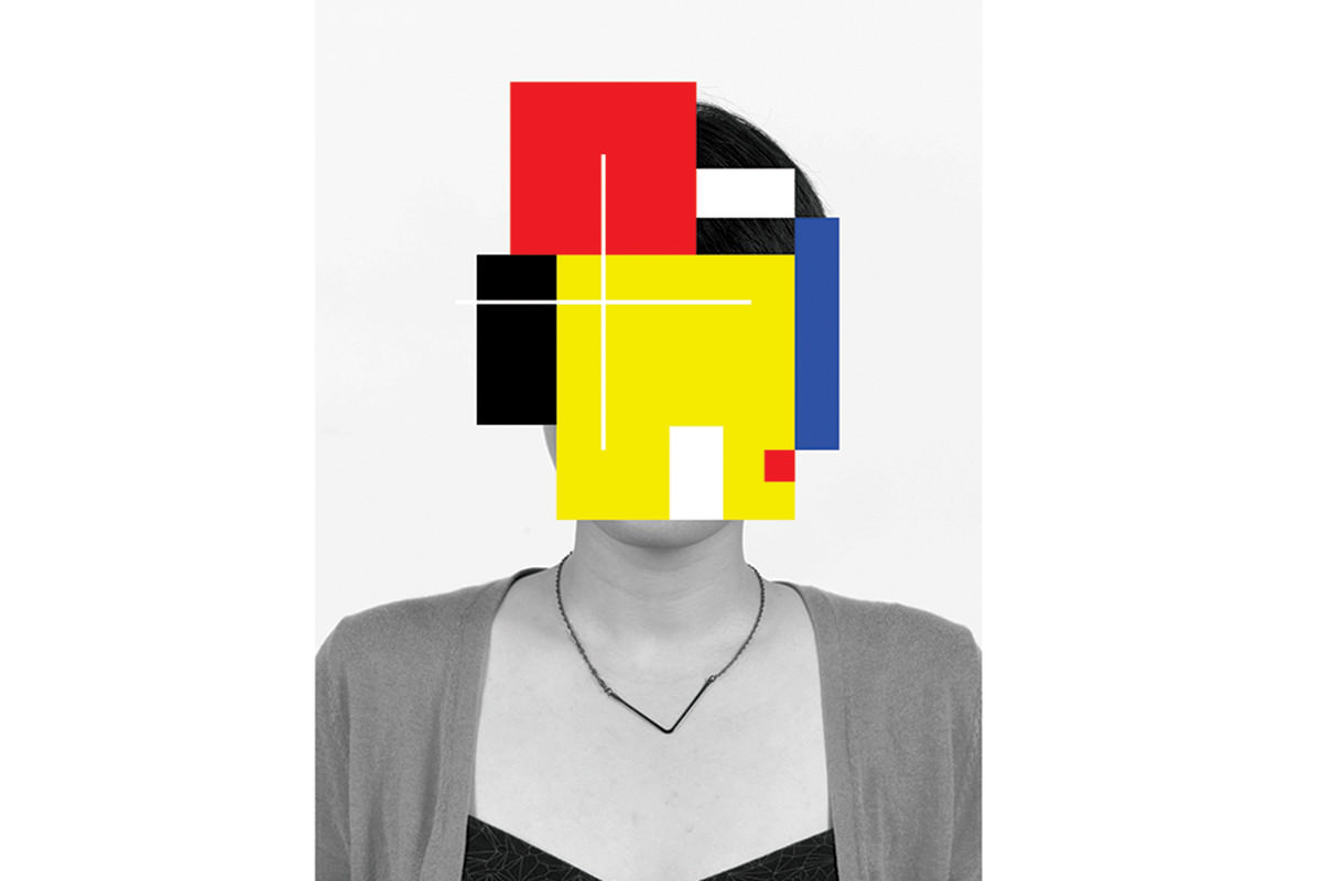 Douglas Coupland's Deep Face: one of the show's more evocative works