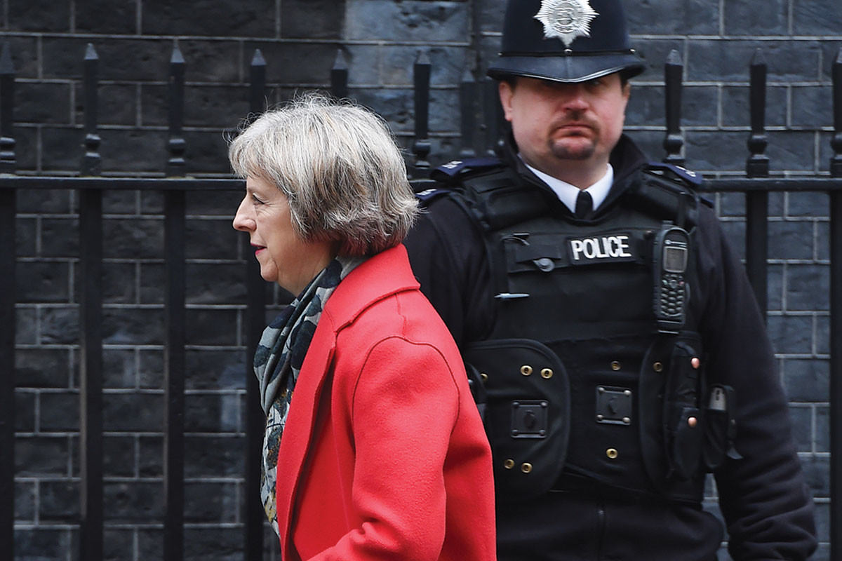 "UK home secretary Teresa May says the revised bill is ""clearer and stronger"" on privacy"