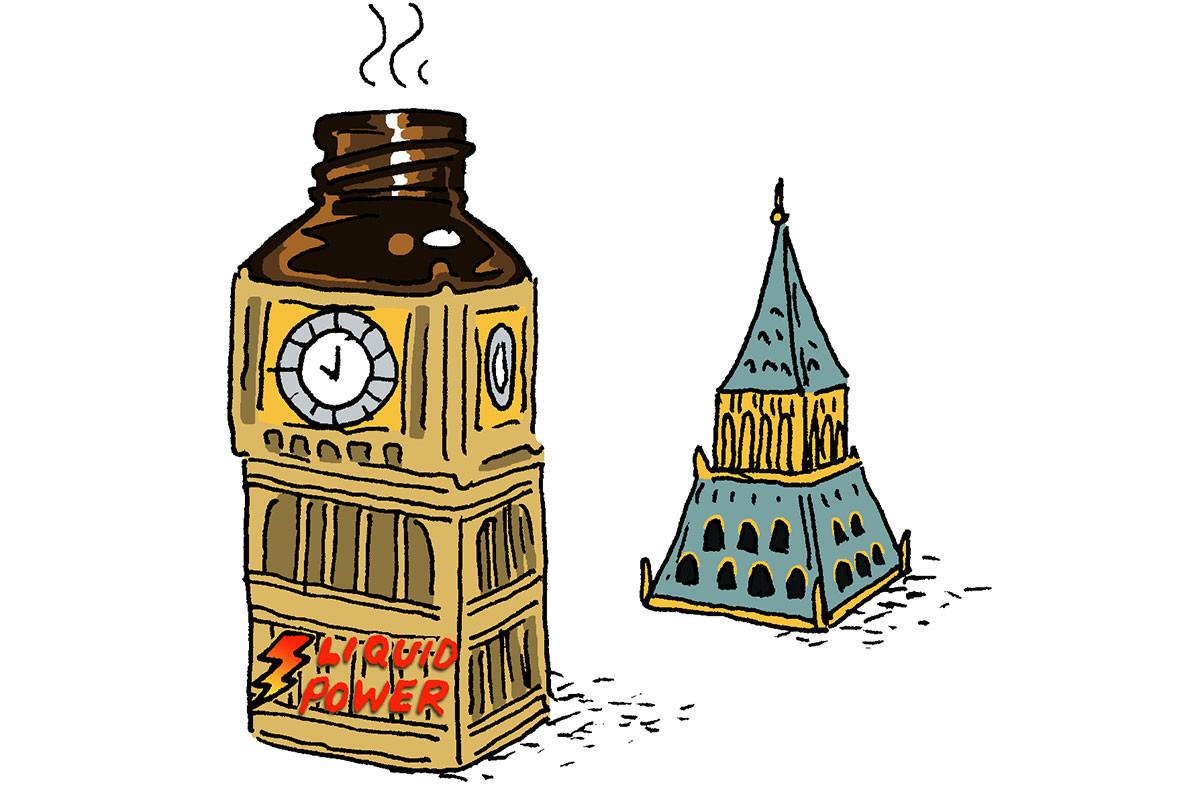 Big Ben poppers